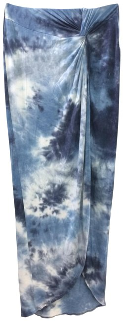 Solemio High-low Knot Skirt Tie-Dye Image 0