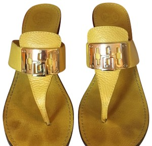 Tory Burch Ray Yellow Sandals
