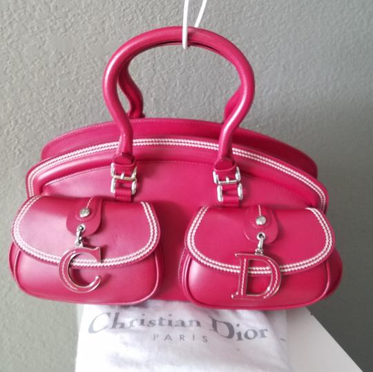Dior Lady Tote in Red Image 1