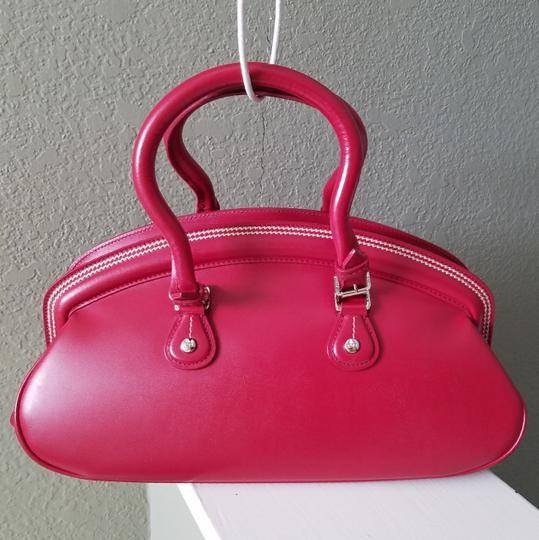 Dior Lady Tote in Red Image 2