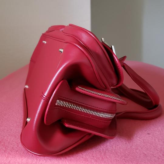Dior Lady Tote in Red Image 4