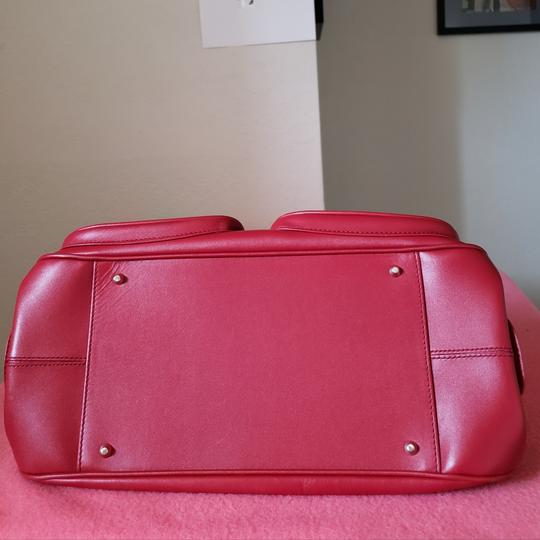 Dior Lady Tote in Red Image 6