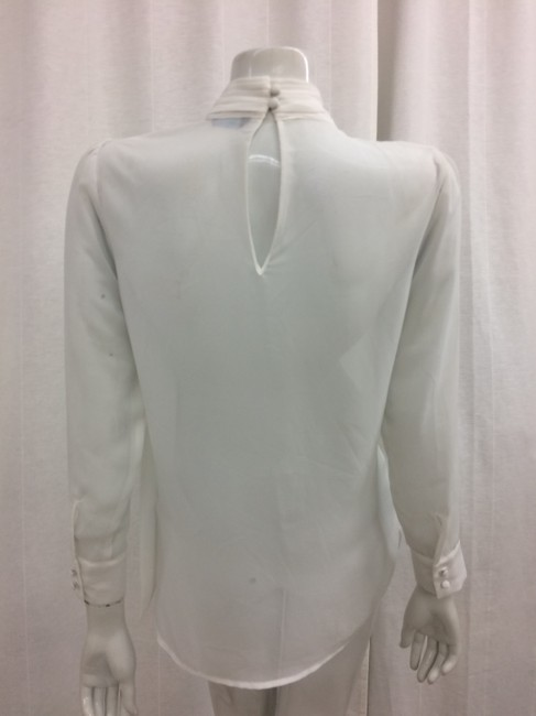 Marciano Tie-neck Keyhole Top White Image 3