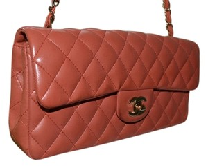 Chanel Lambskin Flap Shoulder Bag
