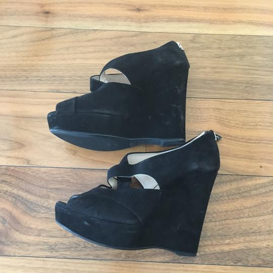 Prada Black Wedges Image 6