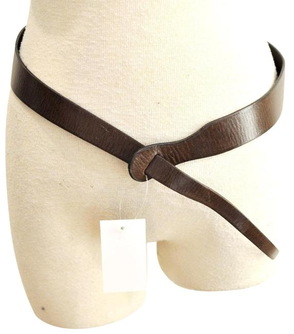 Item - Brown Loop Belt