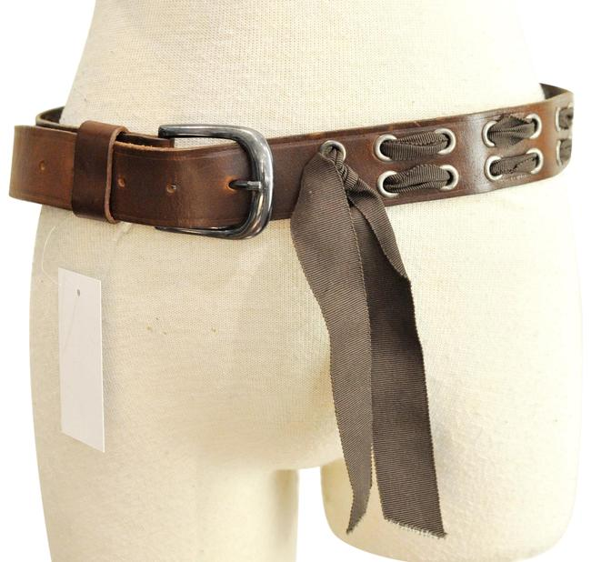 Item - Brown Leather Belt