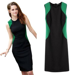 short dress Green on Tradesy