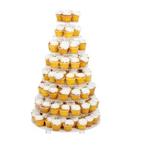 Clear 8 Tier Acrylic Round Cake Stand/Cupcake Stand Tower Other