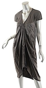 Rick Owens short dress Taupe Island S/S on Tradesy