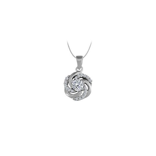Preload https://img-static.tradesy.com/item/22530305/white-silver-cubic-zirconia-fancy-circle-fashion-pendant-in-sterling-075-ct-necklace-0-1-540-540.jpg