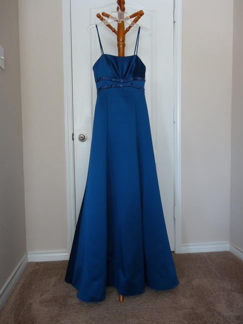 David's Bridal Ball Gown Prom Mother Of The Bride Wedding Dress Image 1