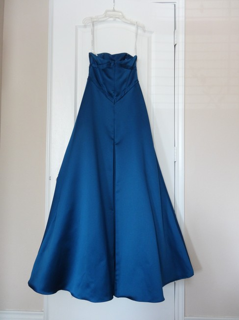David's Bridal Ball Gown Prom Mother Of The Bride Wedding Dress Image 3