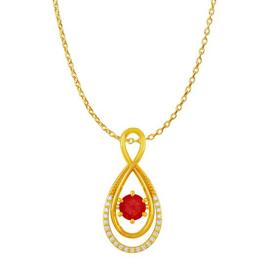 Preload https://img-static.tradesy.com/item/22530362/red-yellow-cz-ruby-infinity-double-loop-pendant-gold-vermeil-necklace-0-0-540-540.jpg