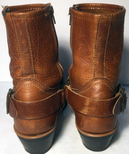 Frye 77345 Harness Motorcycle Size 6.5 Women Size 6.5 Brown Boots Image 6