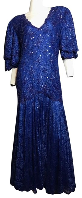 Preload https://img-static.tradesy.com/item/22530447/lillie-rubin-beaded-vintage-long-formal-dress-size-12-l-0-1-650-650.jpg