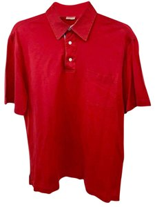 Brioni T Shirt Red