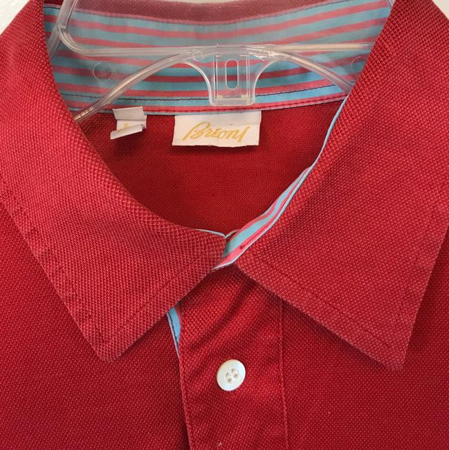 Brioni T Shirt Red Image 2