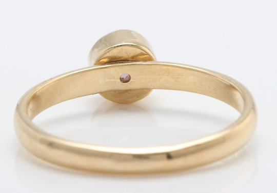 other .46 TCW Natural Pink Montana Sapphire in 14K Solid Yellow Gold Ring Image 3