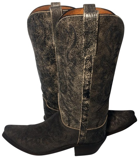 Preload https://img-static.tradesy.com/item/22530536/lucchese-black-1883-leather-western-cowgirl-women-s-bootsbooties-size-us-7-regular-m-b-0-1-540-540.jpg