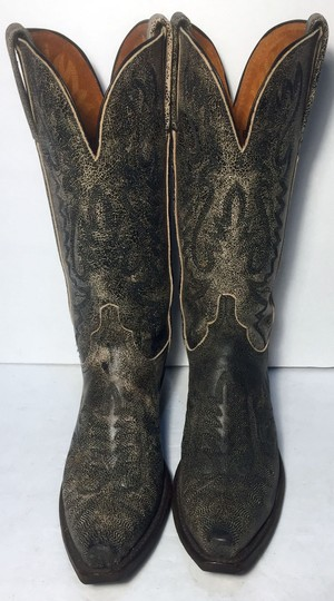 Lucchese Cowgirl 7 Women Size 7 Size 7 Black Boots Image 1