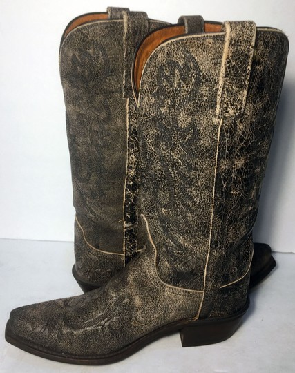 Lucchese Cowgirl 7 Women Size 7 Size 7 Black Boots Image 2