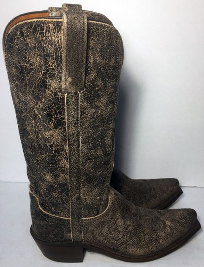 Lucchese Cowgirl 7 Women Size 7 Size 7 Black Boots Image 3