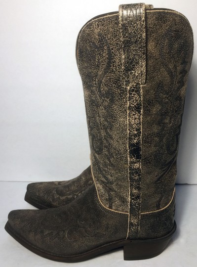 Lucchese Cowgirl 7 Women Size 7 Size 7 Black Boots Image 5