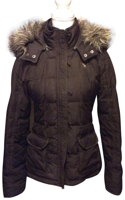 Preload https://img-static.tradesy.com/item/22530879/abercrombie-and-fitch-brown-hooded-size-10-m-0-1-650-650.jpg