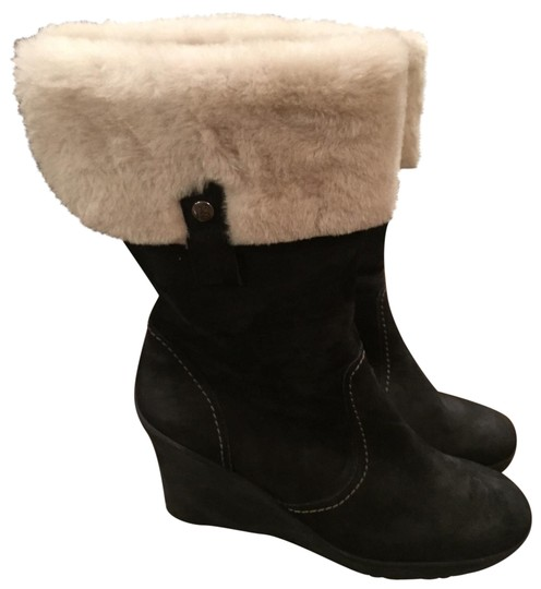 Preload https://img-static.tradesy.com/item/22531038/paul-green-black-with-shearling-lining-bootsbooties-size-us-95-regular-m-b-0-2-540-540.jpg