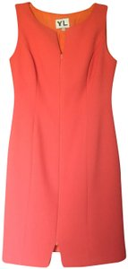 YL by Yair V-neck Sheath Sleeveless Dress