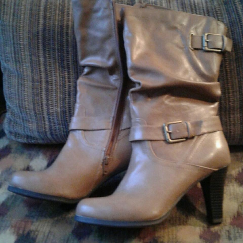 Style & Co Brown /Tan Boots/Booties Boots/Booties /Tan c3a1f4