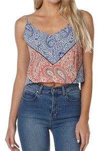 Tigerlily Top Red, Blue