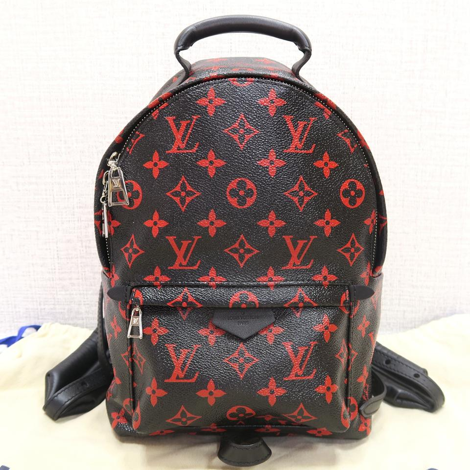 8a5446e2d182 Louis Vuitton Red And Black Backpack Limited Edition- Fenix Toulouse ...