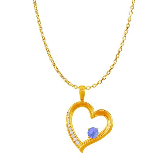 Preload https://img-static.tradesy.com/item/22531421/blue-yellow-cz-tanzanite-birthstones-heart-pendant-gold-vermeil-necklace-0-0-540-540.jpg