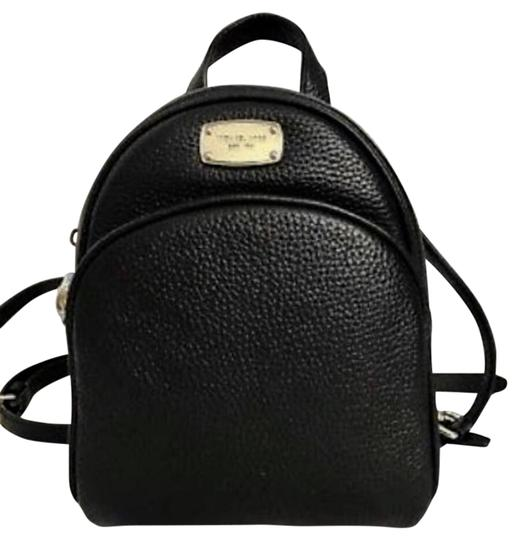 0f9617f997b Michael Kors XS Abbey Black Leather Backpack 32% off retail