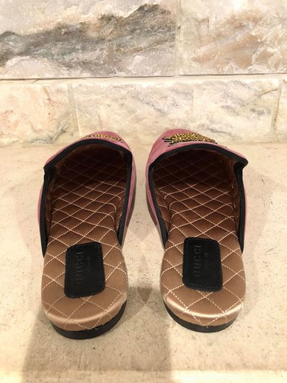 Gucci Princetown Lawrence Loafer Slide red Flats Image 10