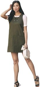 W3 by Who What Wear short dress olive green on Tradesy