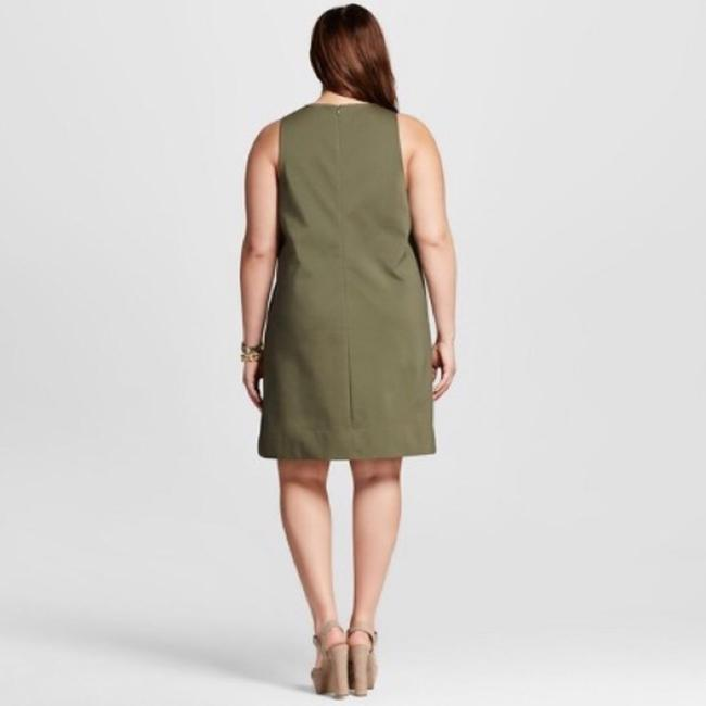 W3 by Who What Wear short dress olive green on Tradesy Image 1