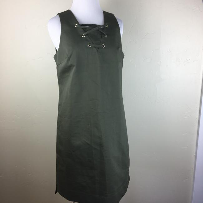 W3 by Who What Wear short dress olive green on Tradesy Image 3