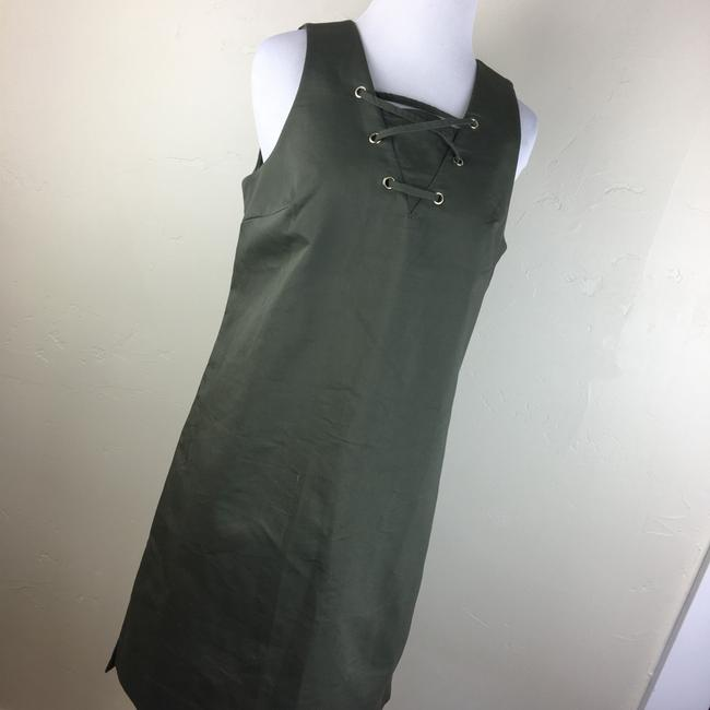 W3 by Who What Wear short dress olive green on Tradesy Image 4
