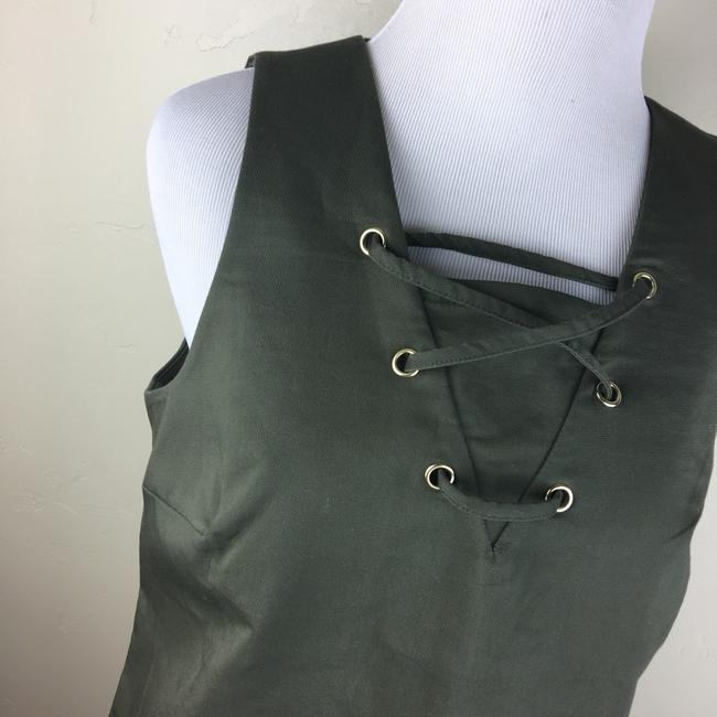 W3 by Who What Wear short dress olive green on Tradesy Image 6