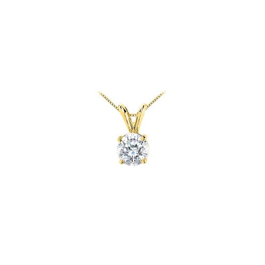 Preload https://img-static.tradesy.com/item/22531591/white-yellow-gold-brilliant-cut-round-triple-aaa-quality-cz-solitaire-pendant-necklace-0-0-540-540.jpg