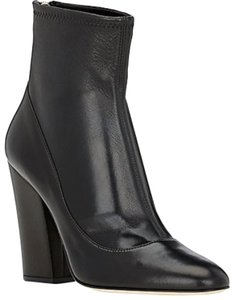 Sergio Rossi Stretch Leather black Boots