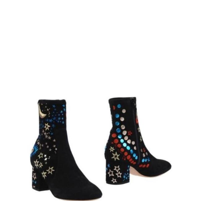 Item - Black Blue Gold Red Multi New Boots/Booties Size EU 40 (Approx. US 10) Regular (M, B)