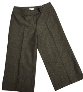 Ann Taylor LOFT Capris Brown and Black