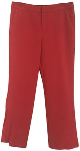 Marc by Marc Jacobs Tomato Bisque Vegan Trouser Pants Coral