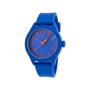 ESQ ESQ07301464 Unisex Blue Silicone Bracelet With Blue Analog Dial Watch