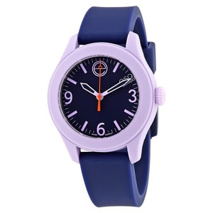 ESQ ESQ07101452 Women's Blue Silicone Bracelet With Blue Analog Dial Watch