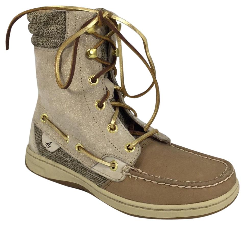 LADY Sneakers Sperry Tan 9531401 Hi-top Sneakers LADY Special function 474542